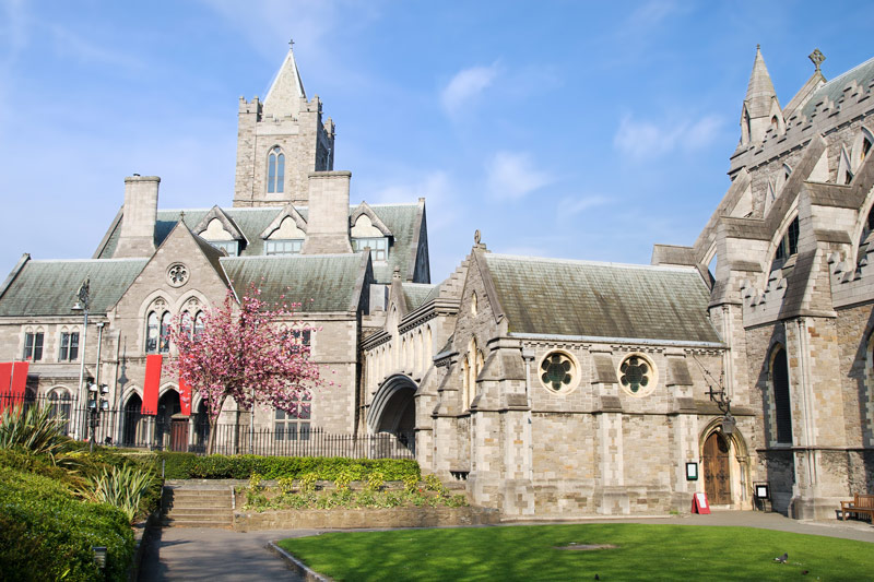 Het Kathedraal in Dublin tijdens je stedentrip Dublin met kerst