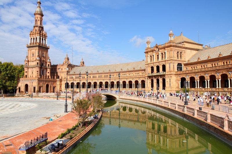 Overwinteren in Spanje in de stad van Sevilla