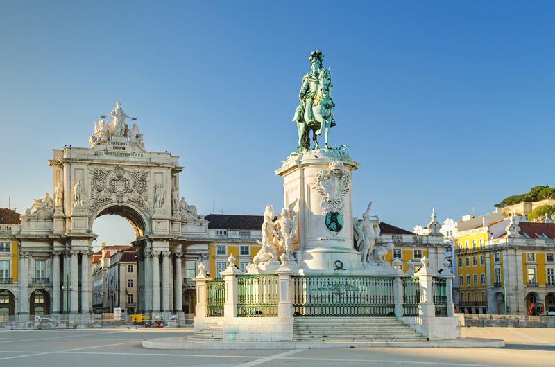 Praça do Comércio hoort bij een van de leuke stedentrips winter Rome
