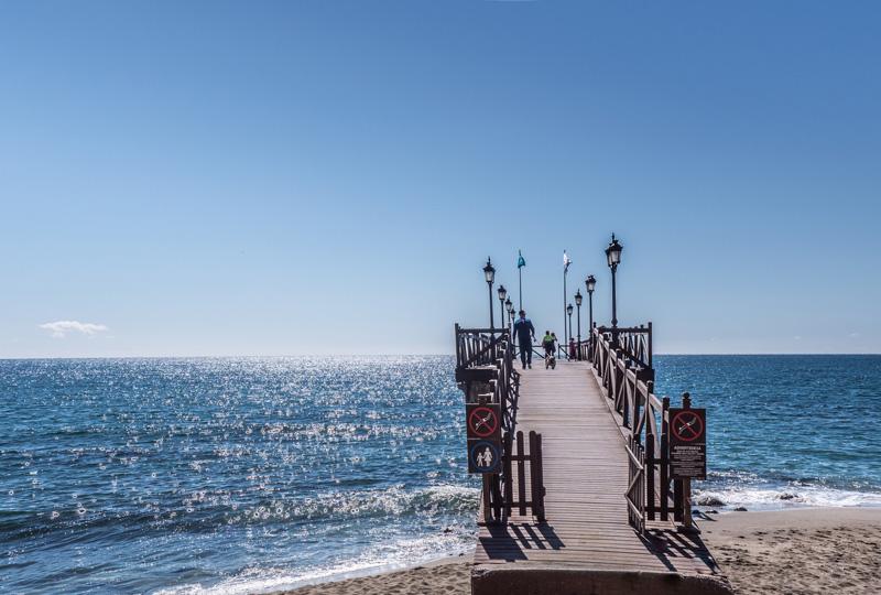 Overwinteren in Spanje aan het strand van de Costa del Sol, Marbella