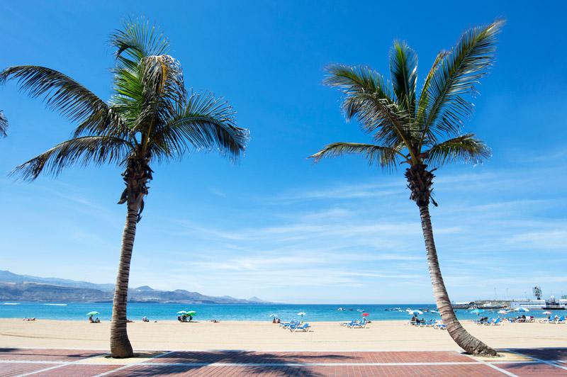 Overwinteren in Spanje op het strand van Gran Canaria