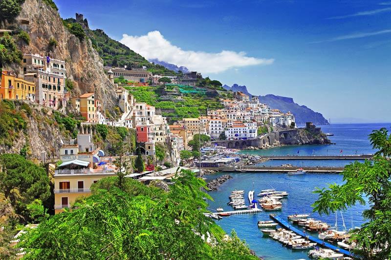 De mooiste route langs de Amalfikust
