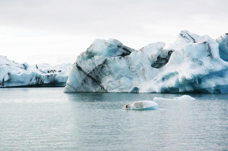 De gletsjers in Ijsland behoren tot een van de stedentrips in de winter