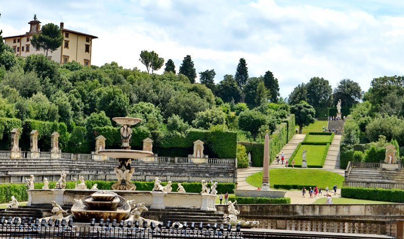 Florence - Boboli tuinen