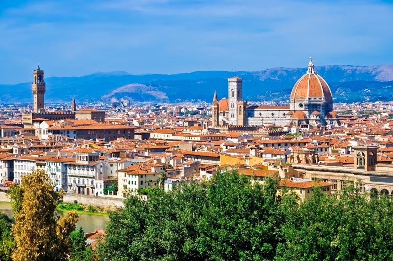 Top 5 bezienswaardigheden van Florence