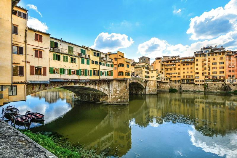Florence - Brug Ponte Vecchio