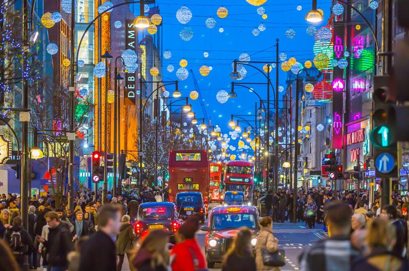 De stad London behoort tot een van de stedentrips in de winter