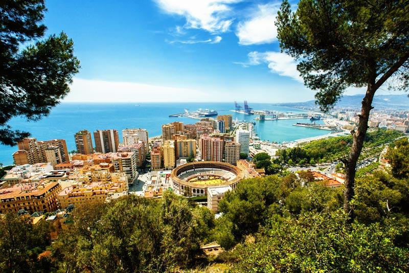 5x doen tijdens een stedentrip Malaga
