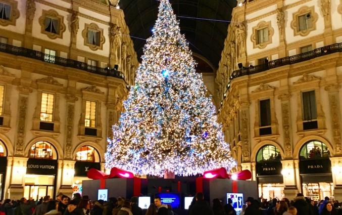 Het winkelcentrum bij de kerstmarkt een van de top 15 mooiste kerstmarkten van 2020