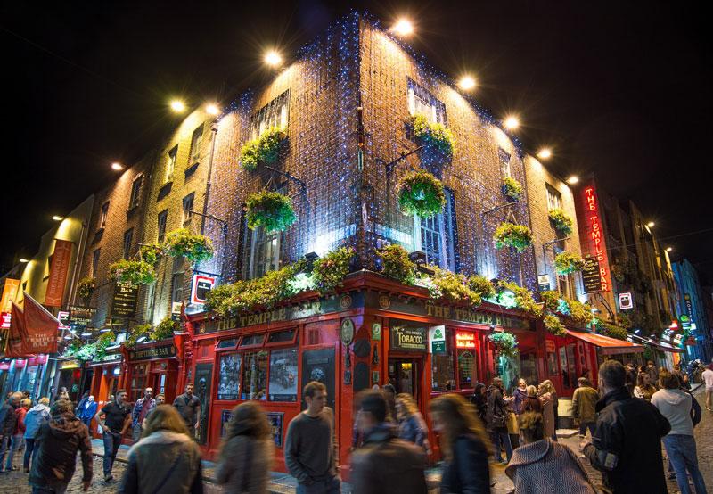 Dublin met kerst
