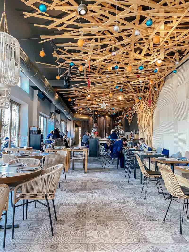 Het restaurant Portolito in Valencia hoort bij Bebsy in Spanje de Valencia tips