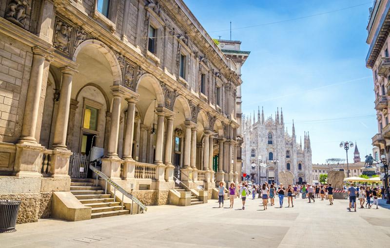 De Duomo in Milaan behoort tot 5x de leukste stedentrips Italië in Rome