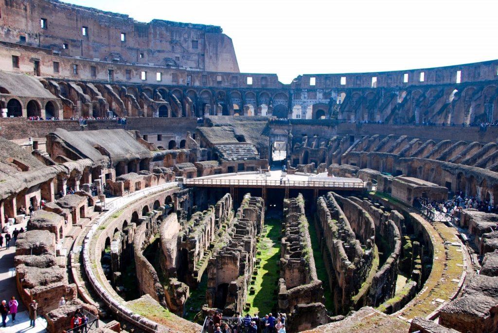 De binnenkant van de Colosseum in Rome behoort tot waarom dit mijn stedentrip is