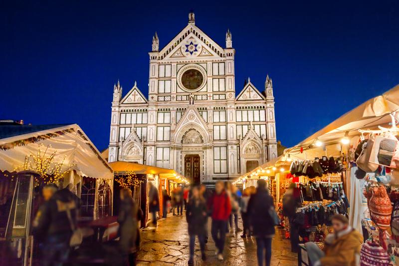 De mooie kerstmarkt Florence 2020 op een van de top 15 mooiste kerstmarkten van 2020