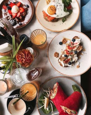Maaltijden van Benjis in Amsterdam een van de beste restaurants Nederland