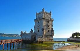 De verdedigingstoren Torre de Belém