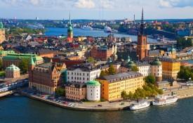 De eilandgroep van Stockholm