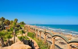 Het strand van Valencia
