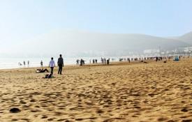 De stranden van Agadir
