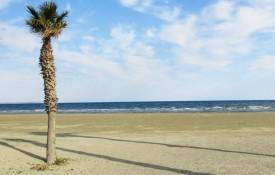 De stranden van Larnaca