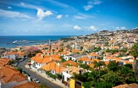 De hoofdstad Funchal