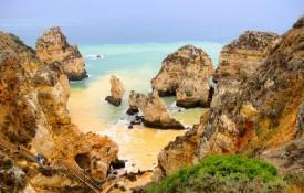 De kust van de Algarve
