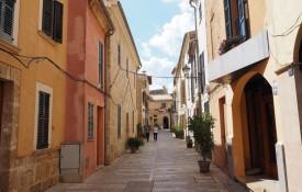 Het middeleeuwse stadje Alcudia