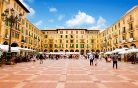 De hoofdstad Palma de Mallorca