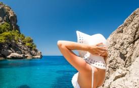 De badplaats Playa de Palma