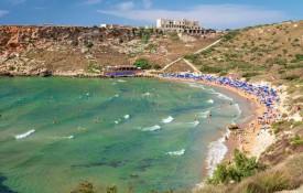 De stranden van Malta