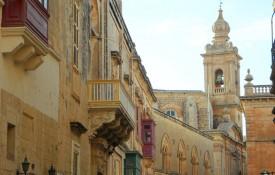 De voormalige hoofdstad Mdina