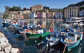 Het stadje Sorrento