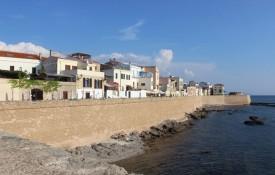 Het stadje Alghero