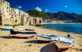 De stranden van Sicilië
