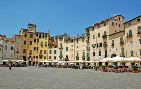 Het stadje Lucca