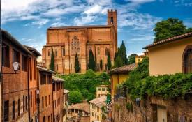 De stad Siena