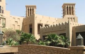 De oude wijk Bastakiya