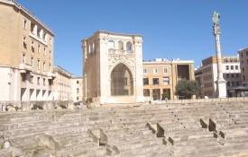 Het stadje Lecce