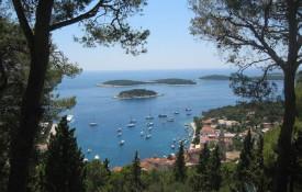 Het eiland Hvar