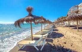 De stranden van Malaga