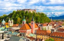 Het kasteel van Ljubljana