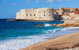 De stranden van Dubrovnik