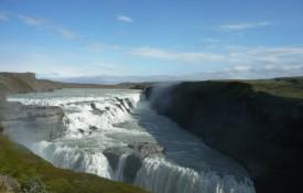 De waterval Gullfoss
