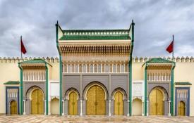 Het Koninklijk Paleis Dar el-Makhzen