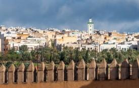 De nieuwe stad Fes el-Djedid