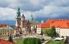 De Wawel Burcht en de Wawel Kathedraal