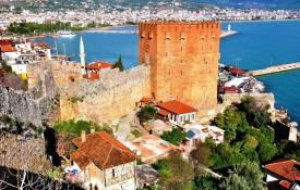 De oude stad Kaleiçi