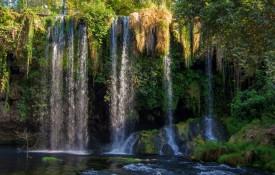 De Düden watervallen