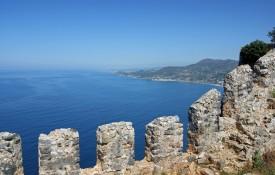 Het kasteel van Alanya