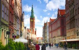 De Lange Markt met de Lange Straat